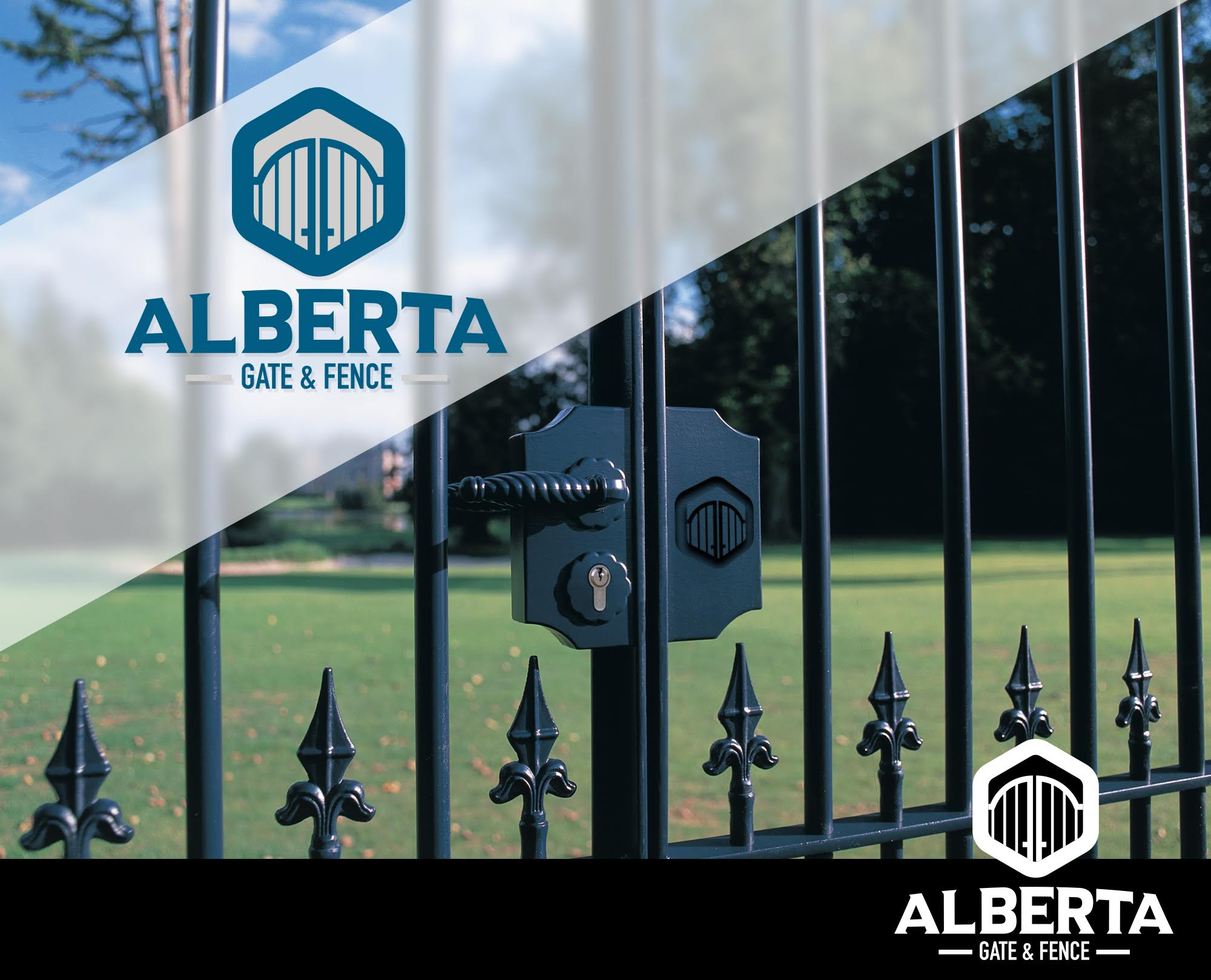 Alberta gate and fence